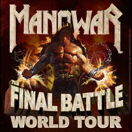 Manowar Final Battle Copyright Magic Circle
