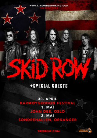 Skid Row Tour Web2