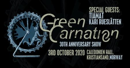 Green Carnation Oktober 20